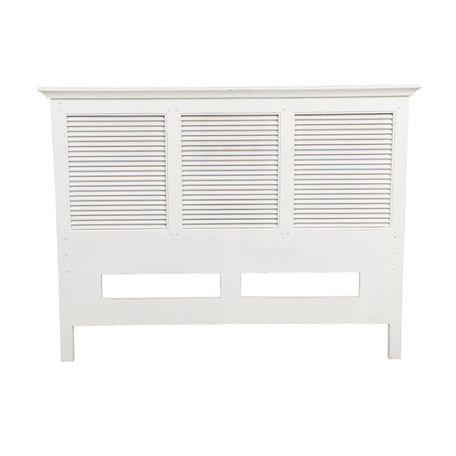 Riviera Queen Headboard - White  Furniture nz