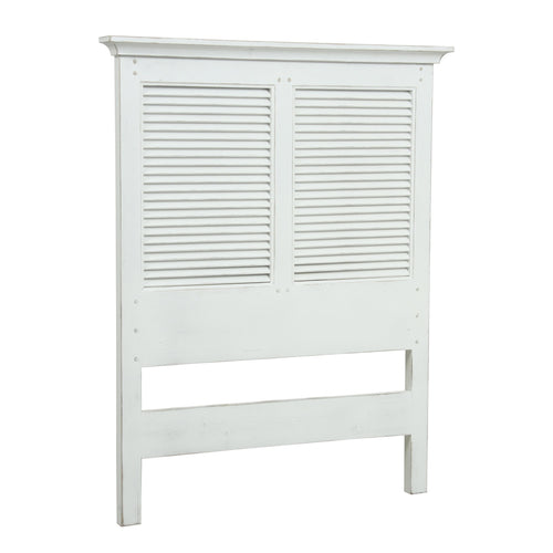 Riviera Single Headboard - White Furniture nz