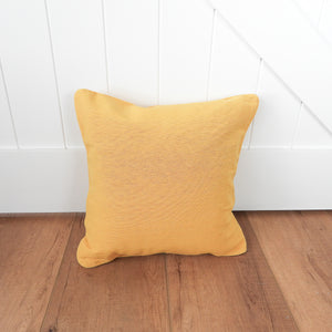 Solid Scatter Cushion 40x40cm - Mustard  Homewares nz