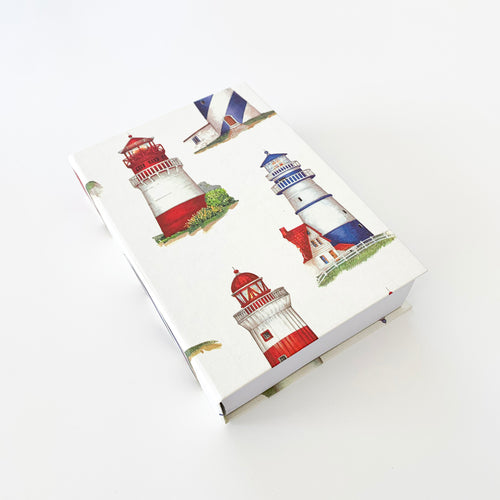 The French Villa Lighthouses Notepad
