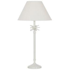White Pineapple Lamp Stand With White Shade 51cm  Homewares nz