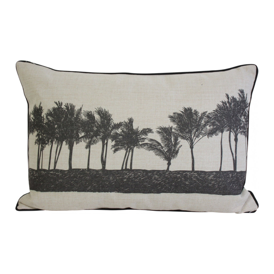 Palm Row Cushion 40x60cm Homewares nz