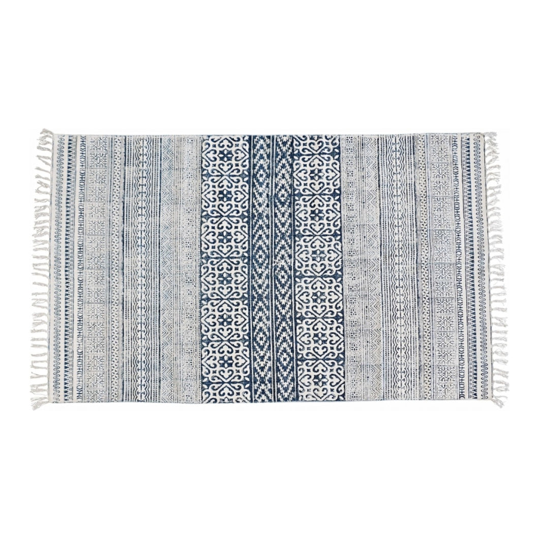 Flora Stampa Rug - Large  Homewares nz