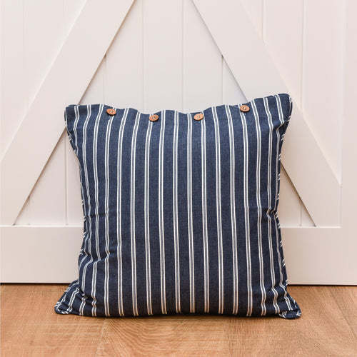 Sailor Cushion 50x50cm - Navy  Homewares nz
