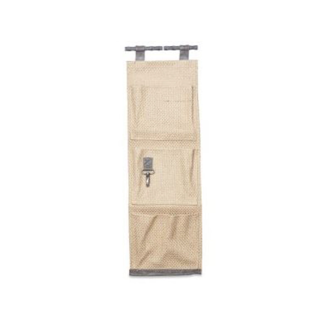 3 Pocket Jute Hanging Organiser Homewares nz