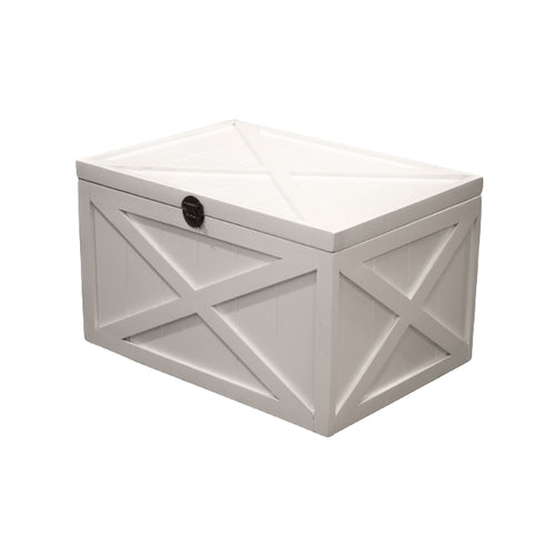 Bahamas Trunk Coffee Table - White Furniture nz