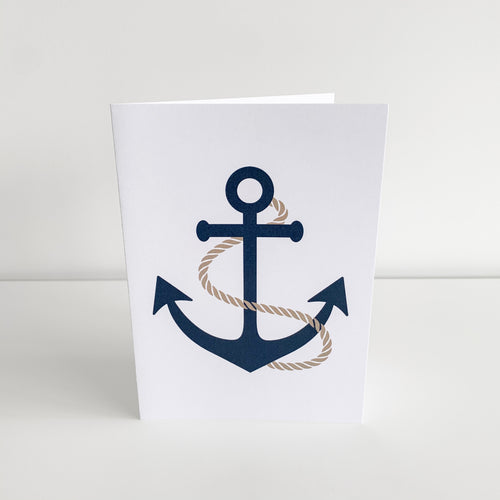 Standard Greeting Card - Anchor