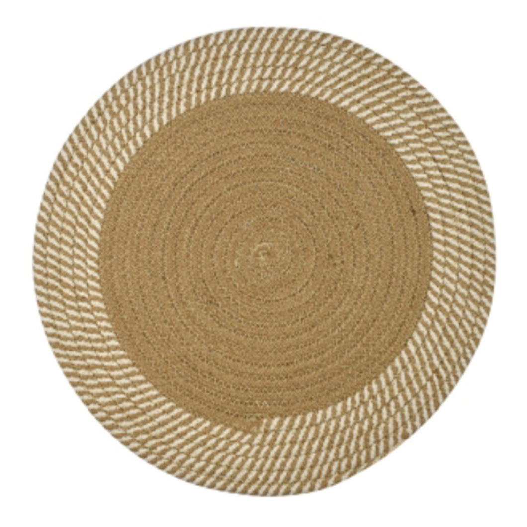 Round Woven Placemat - Natural Homewares nz