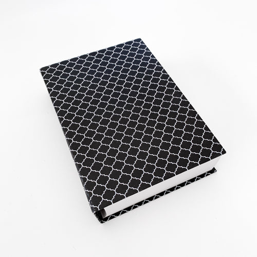 The French Villa Hamptons Print Notepad - Black