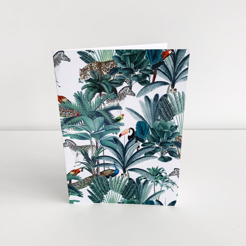 Standard Greeting Card - Plantation Toucan Homewares nz