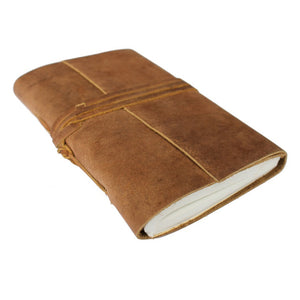 The Fiels MS Buffalo Leather Travel Wrap Journal 15cm