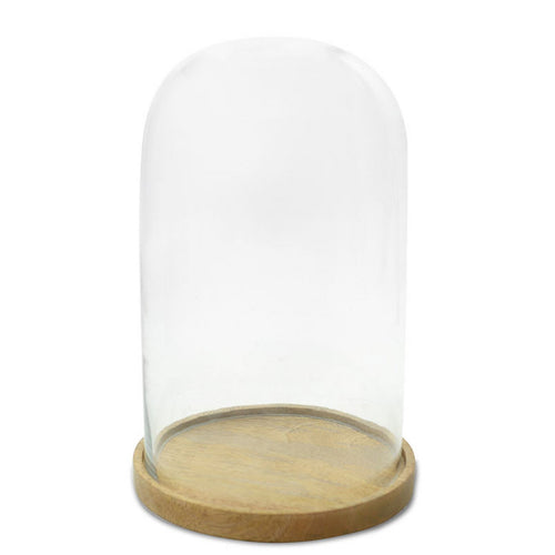 Glass Cloche Hurricane - Small