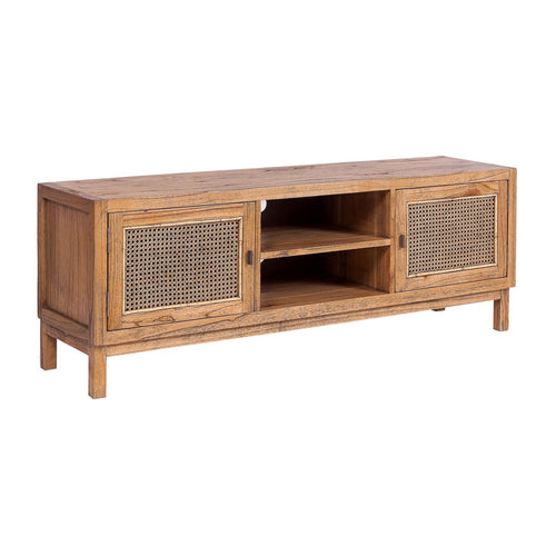 Bahamas Rattan Entertainment Unit - Light Tobacco