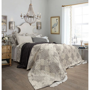 Lucinda Jacquard Cotton Muslin King Queen Bedcover Set  Homewares nz
