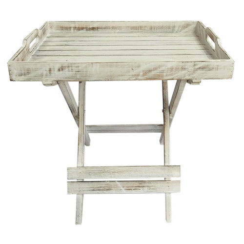Sage Tray Table - White Wash