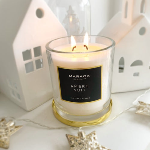 Maraca Ambre Nuit Luxury Candle 450g