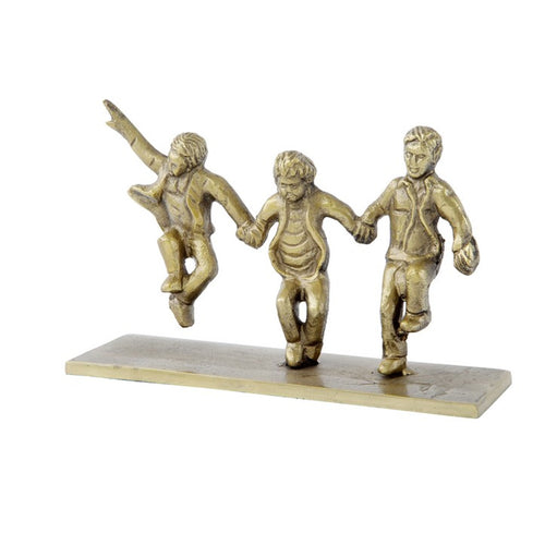 3 Boys Playtime Statue 22cm Homewares nz