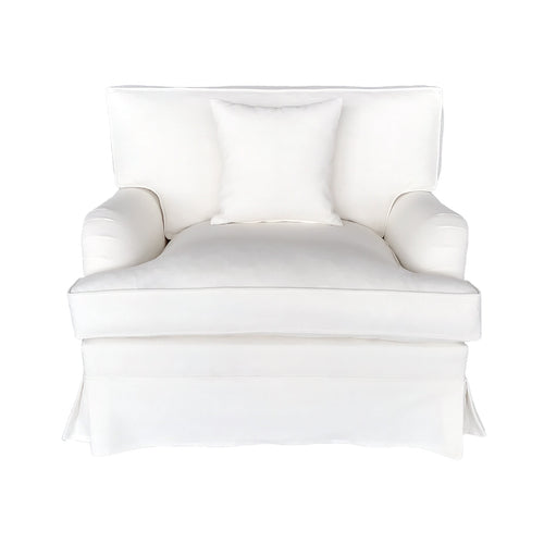 Rhode Island Armchair - Off-White