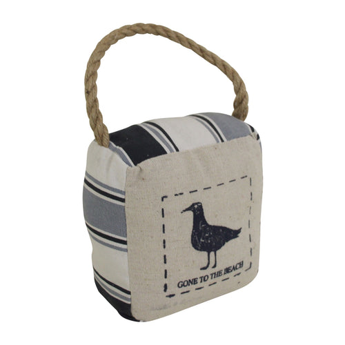 Bird Stripe Doorstop  Homewares nz