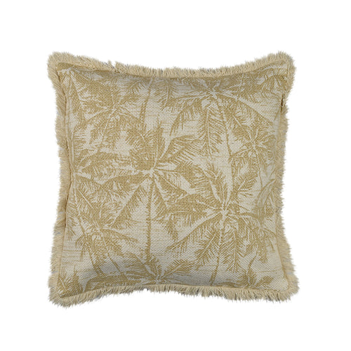Bahama Palm Cotton Cushion 50x50cm Homewares nz