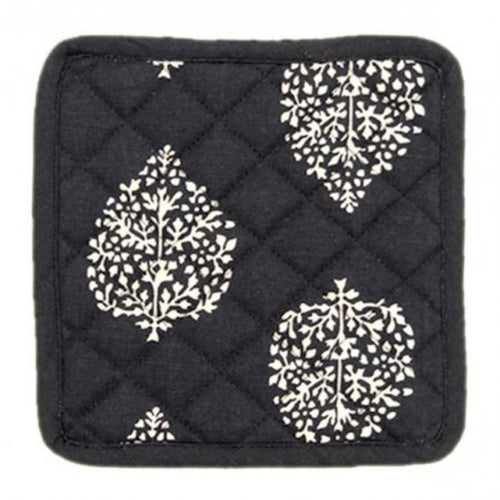 Avalon Pot Holder Set - Charcoal  Homewares nz