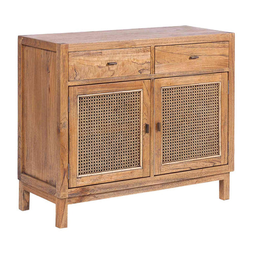 Bahamas Rattan 2 Door Buffet - Light Tobacco