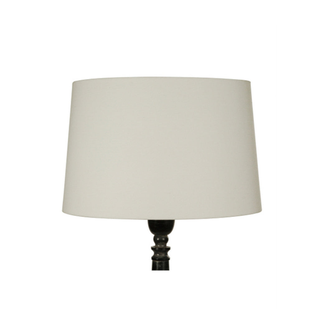 Tapered Drum Lamp Shade 46cm - White  Homewares nz