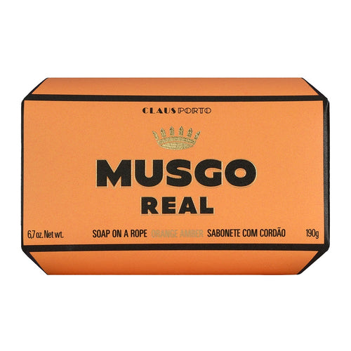Claus Porto Musgo Orange Amber Soap On A Rope 190g