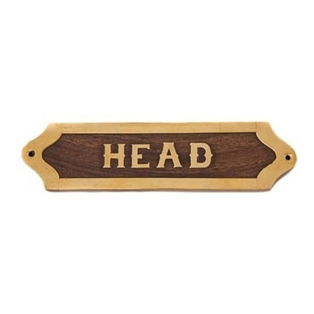 Head Wooden Plaque