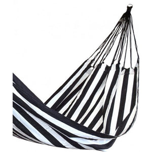 Salon Hammock - Black & White Stripe  Homewares nz