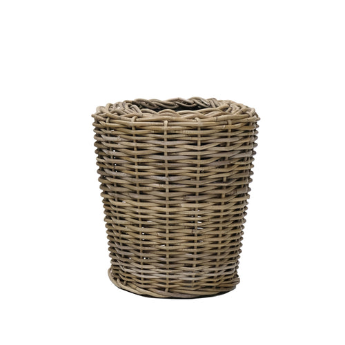 Hudson Bay Cane Planter With Pot - Small  Homewares nz