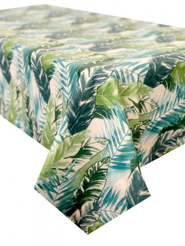 Forest Foliage Large Rectangle Tablecloth 150x320cm