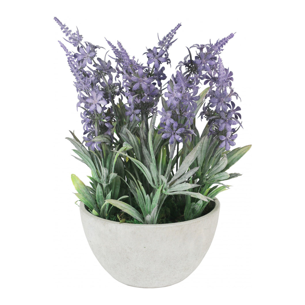 English Lavender Faux Flower  Homewares nz