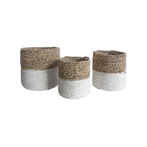 Woven Planter Basket - Medium  Homewares nz