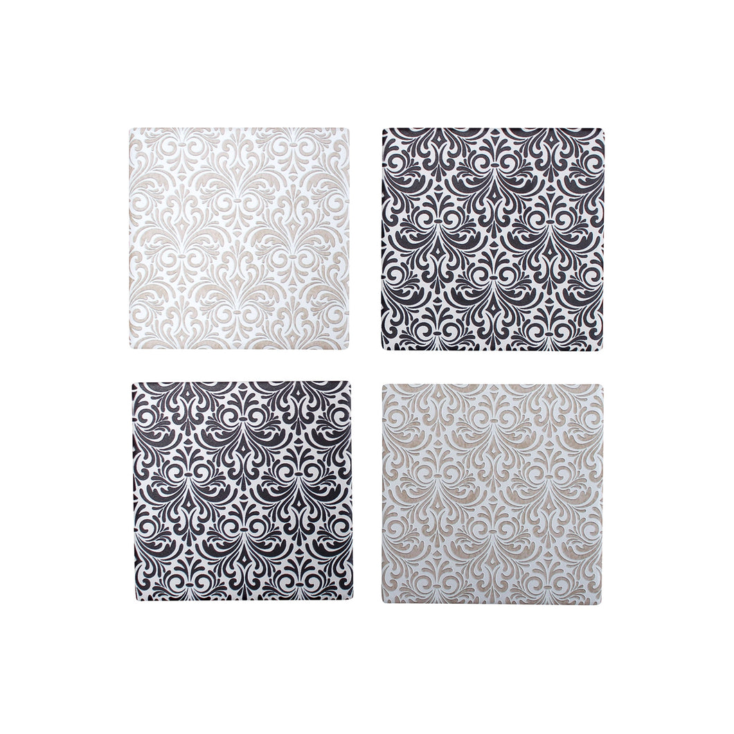 Coaster Textured Patter Assorted  Homewares nz