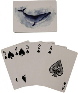 Blue Whale Playing Cards Homewares nz