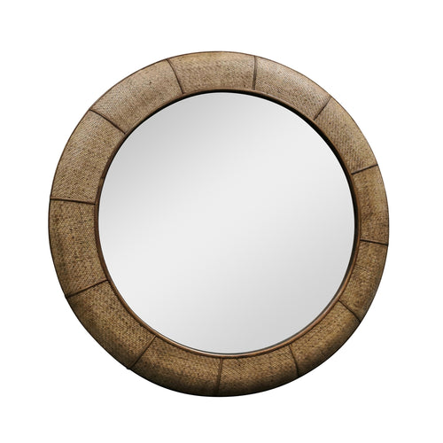 Dominica Rattan Mirror 120cm Homewares nz
