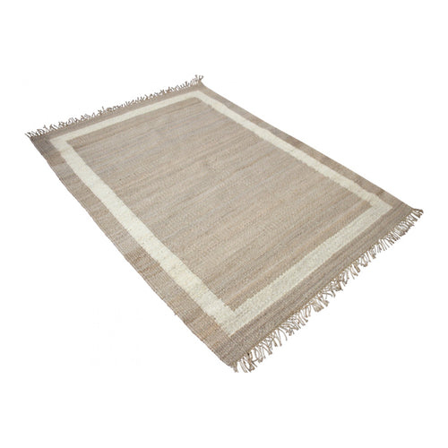 Natural Border Rug 200X300cm - Large  Homewares nz