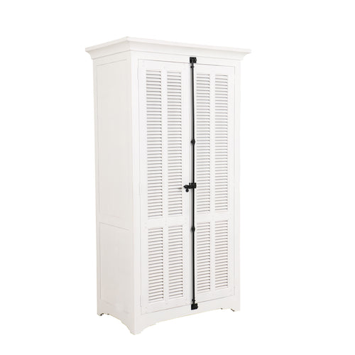 Riviera 2 Door Wardrobe - White