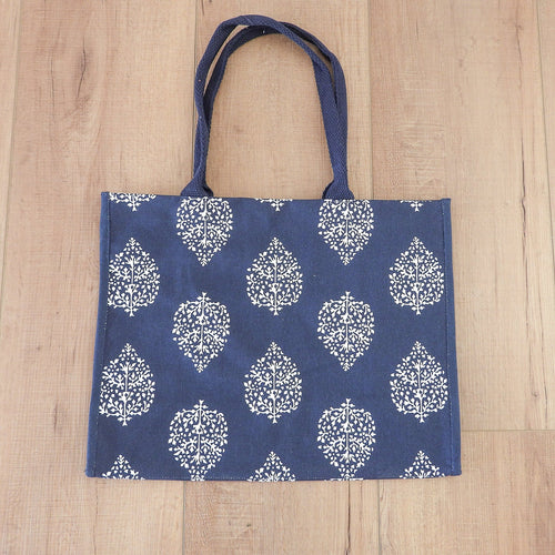 Avalon Everyday Bag - Navy & White  Homewares nz