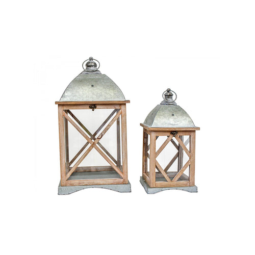 Bahamas Natural Lantern - Small