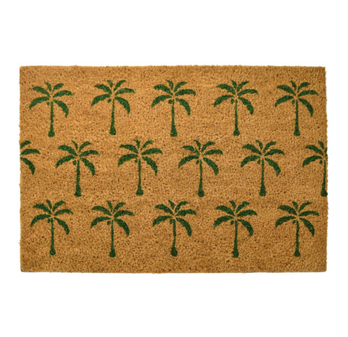 Palm Tree Coir Doormat 40x60cm  Homewares nz