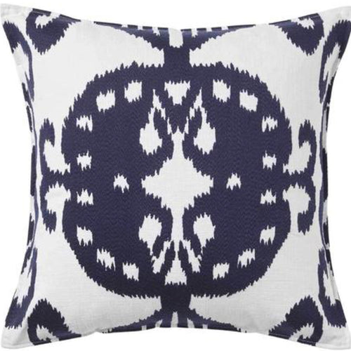 Mollymook Cushion 50x50cm - Navy & White Homewares nz