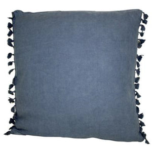 Boho Square Cushion 50x50cm - Navy