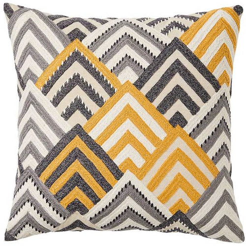 Aldo Cushion 50x50cm - Mustard Homewares nz