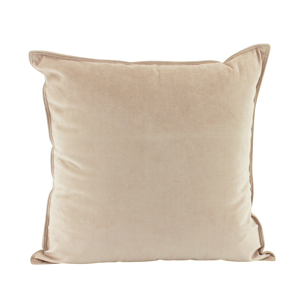 Velvet Cushion 45x45cm - Blush