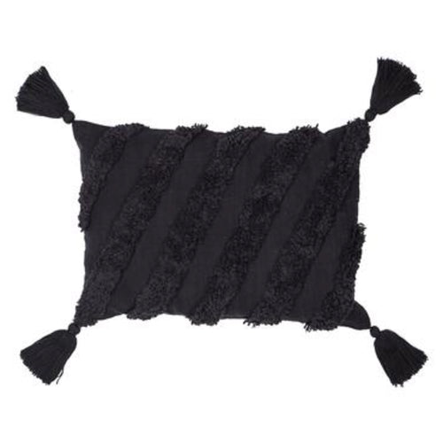 Mirage Cushion 40x60cm - Black