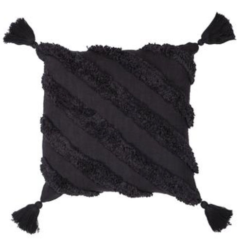 Mirage Cushion 50x50cm - Black