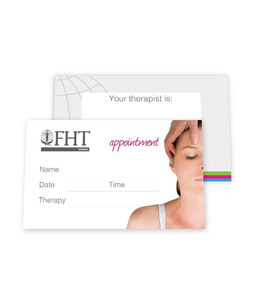 Image of FHT appointment cards