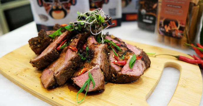 Soeos Sichuan Rack of Lamb